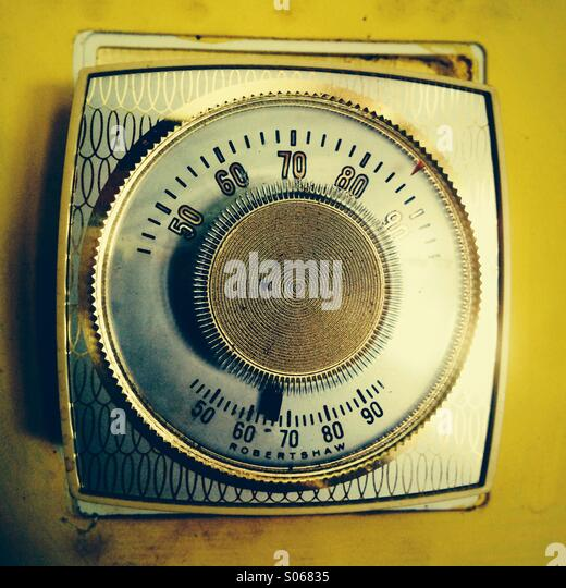 Thermostat - Stock Image