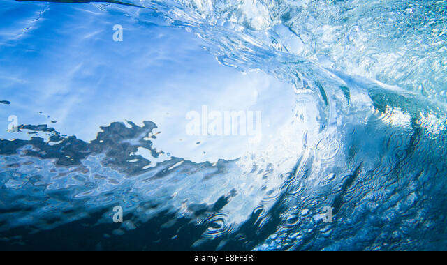 Close-up of a wave - Stock-Bilder