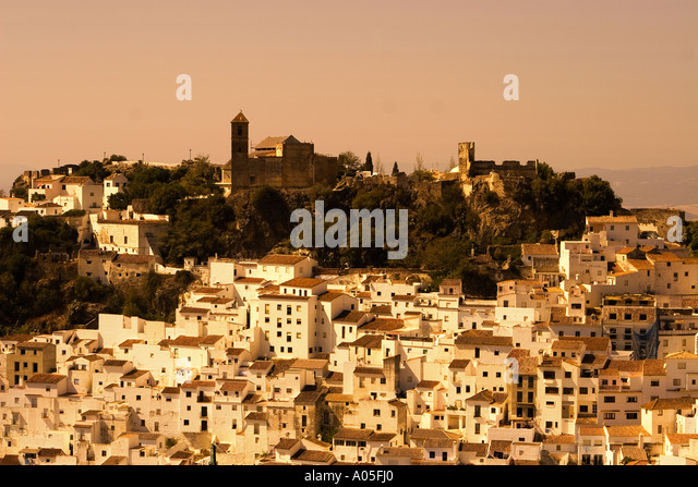 Spain Andalucia Casares white village - Stock Image
