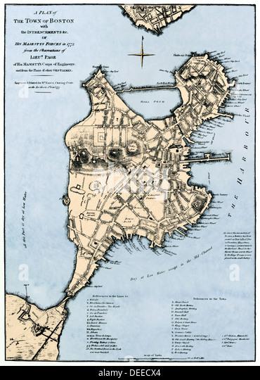 Massachusetts Ma 1770s 1700s Stock Photos Amp Massachusetts