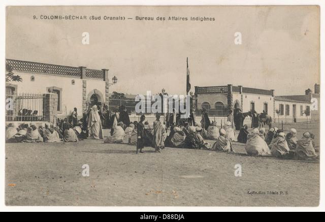 Algerian Affairs - Stock Image