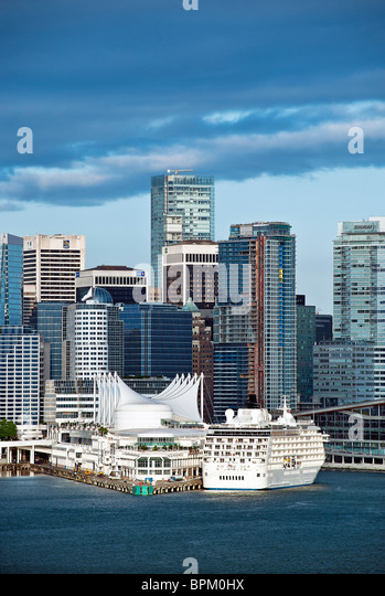 Vancouver skyline, Canada - Stock Image