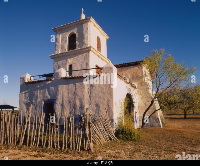 Alamo Village - Stock Image