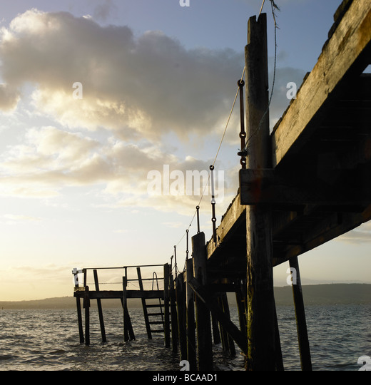 Pier at Holywood County Down Northern Ireland - Stock-Bilder