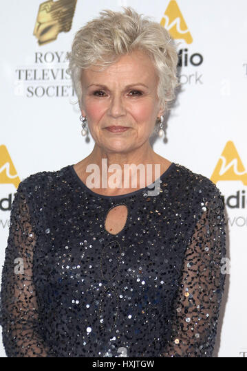 Mar 21, 2017 - Julie Walters attending Royal Television Society Awards 2017, Grosvenor House Hotel in London, England, - Stock Image
