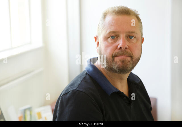 Portrait of Middle-aged Man - Stock Image