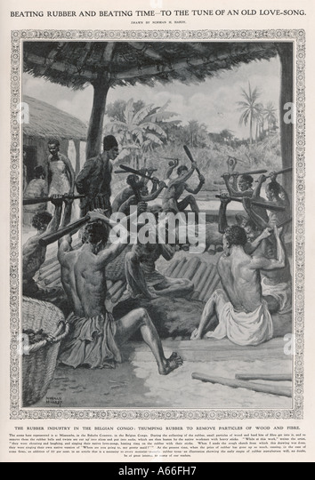 Beating Rubber Congo - Stock-Bilder