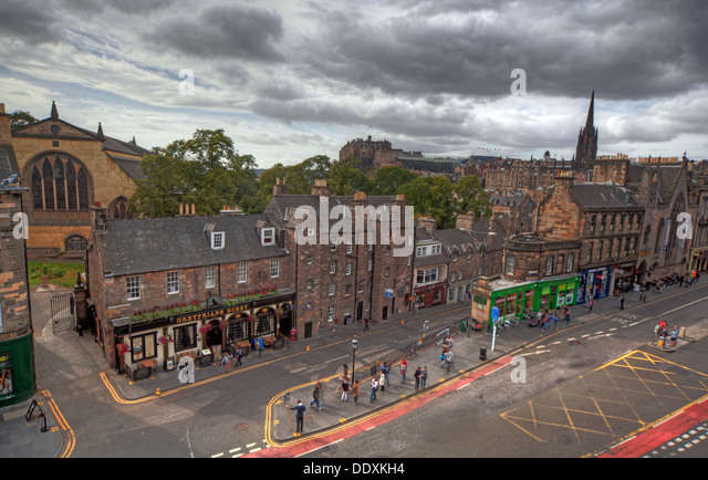 Edinburgh Grey Friars,Tolbooth,city centre,Scotland,UK - Stock Image