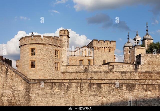 Tower of London, City of London, London, England, United Kingdom - Stock Image