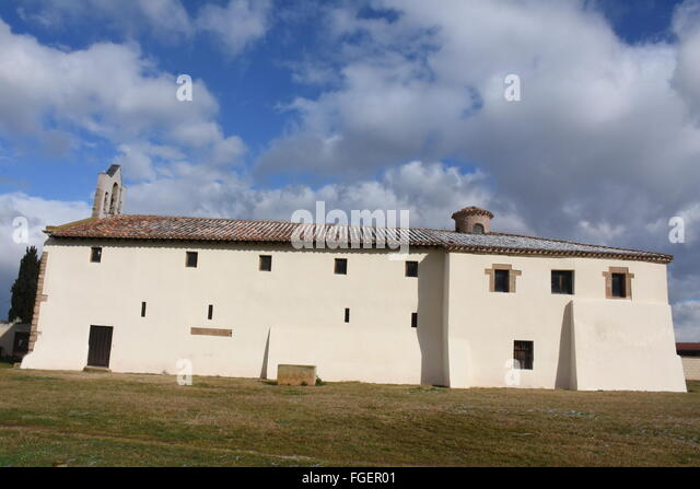 Tricio church La Rioja Spain - Stock Image