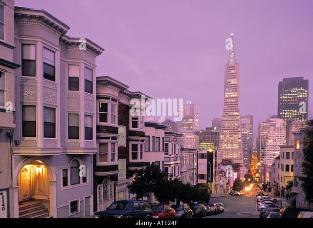San Francisco, California, USA - Stock Image