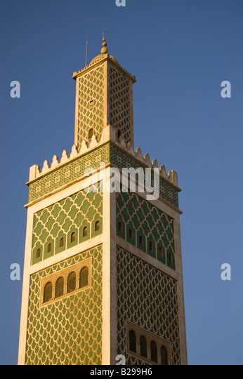 Minaret of Grand Mosque Date 20 02 2008 Ref ZB583 110492 0016 COMPULSORY CREDIT World Pictures Photoshot - Stock Image