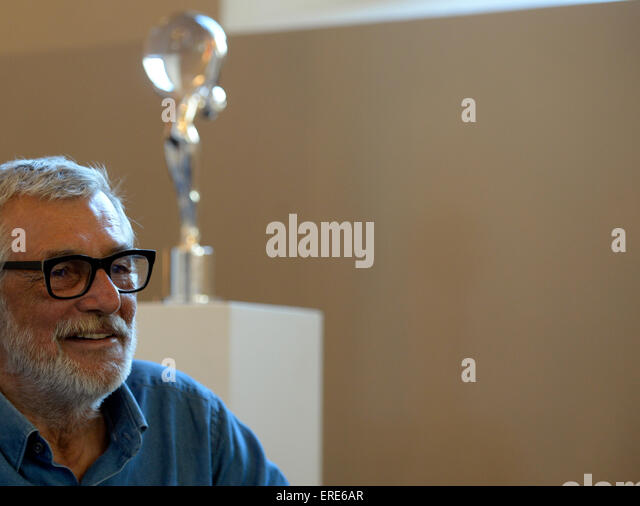 Prague, Czech Republic. 2nd June, 2015. Karlovy Vary International Film Festival President Jiri Bartoska attends - Stock-Bilder
