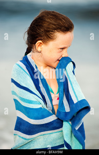 Drying bathing suit stock photos