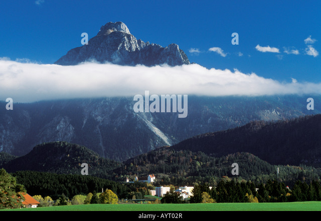 Fuessen, Saeuling, East Allgaeu, Bavaria, Germany, Europe - Stock-Bilder