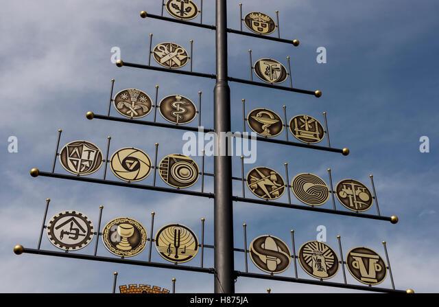 Hillesheim; Germany; Brian Harris - Stock Image
