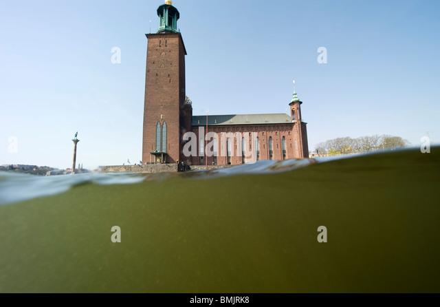 City hall Stockholm - Stock-Bilder