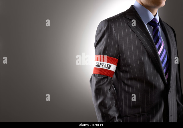 Captain of Industry - Stock Image