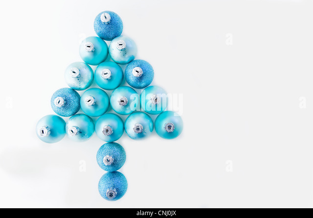 Baubles Blue Cut Out Stock Images Pictures Alamy