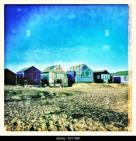 Beach huts - Stock-Bilder