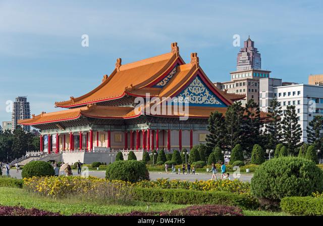 National Concert Hall, Taipei, Taiwan - Stock Image