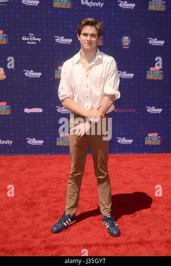 Gus Kamp at arrivals for Radio Disney Music Awards - ARRIVALS, Microsoft Theater, Los Angeles, CA April 29, 2017. - Stock-Bilder