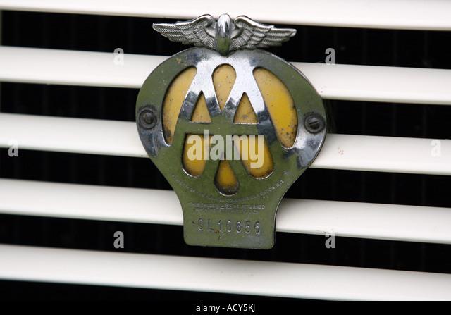 Old Aa Car Badge Stock Photos Amp Old Aa Car Badge Stock