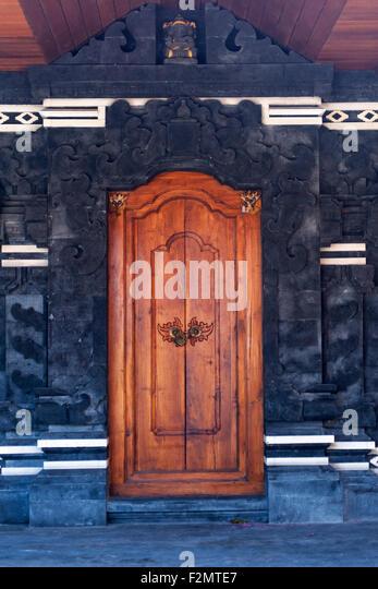 Temple door, Bali - Stock-Bilder