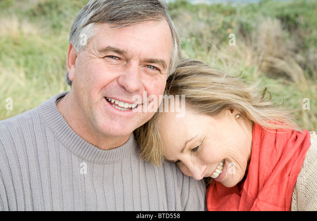 Happy mature couple - Stock Image