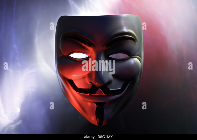 The Anonymous - Stock Image