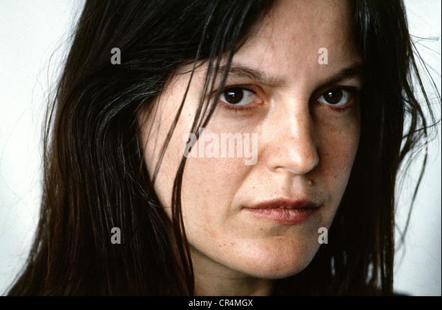 Winkler, Angela, * 22.1.1944, German actress, portrait, Munich, 1983, - Stock Image