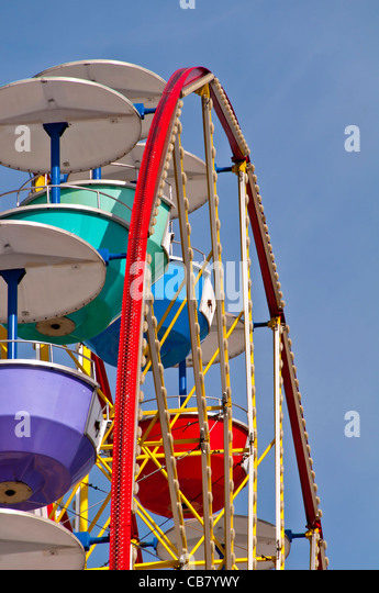 Fun Spot Orlando Action Park ferris wheel off International Drive, Orlando Florida - Stock Image