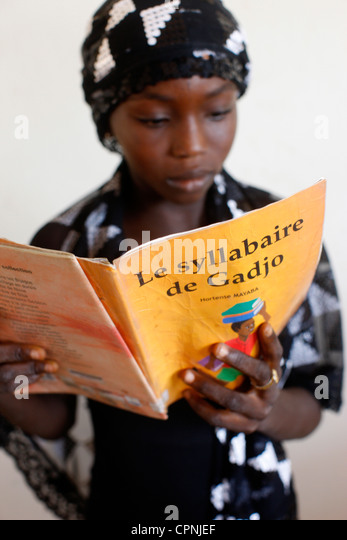 TEACHING IN AFRICA - Stock Image