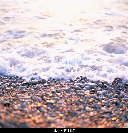 beach catalogue 2 close-up color image nature sea stone summer Swedish catalogue 3 vertical water - Stock-Bilder
