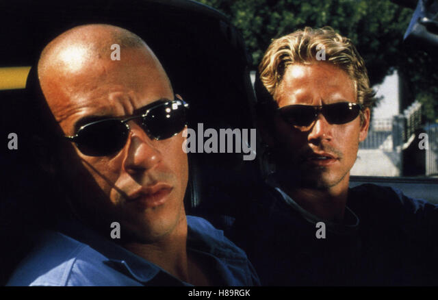 The Fast and the Furious, (THE FAST AND THE FURIOUS) USA 2001, Regie: Rob Cohen, VIN DIESEL, PAUL WALKER, Stichwort: - Stock Image