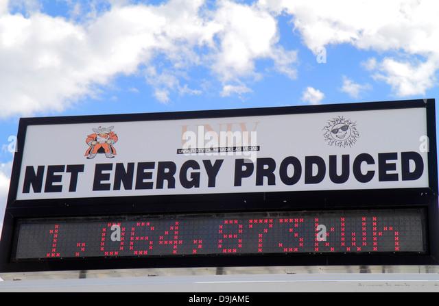 Nevada Las Vegas UNLV University of Nevada Center for Energy Research solar technology testing producing energy - Stock Image