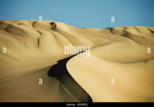 Sand dunes in the Sahara Desert, Egypt, Africa - Stock Image
