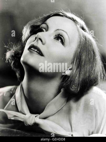 Greta Garbo Portrait circa 1934, 1930s, Garbo, Greta, Portrait, Greta Garbo - Stock Image