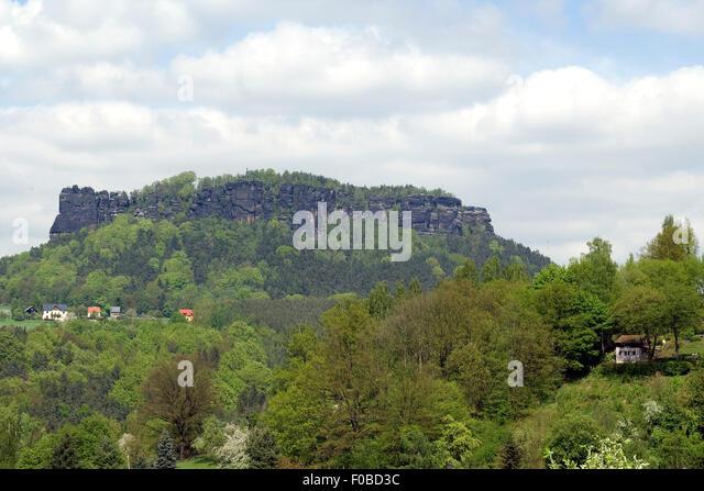 Elbsandsteingebirge, Elbe, Fluss, Sandstein, - Stock-Bilder