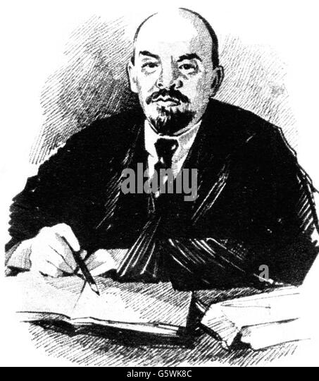 Lenin, 20th century - Stock Image