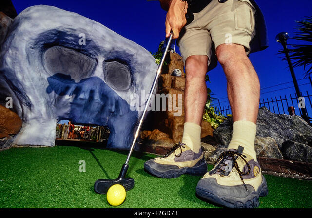 Mini Golf Stock Photos Amp Mini Golf Stock Images Alamy