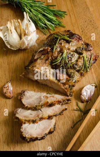 Pork shoulder - Stock Image