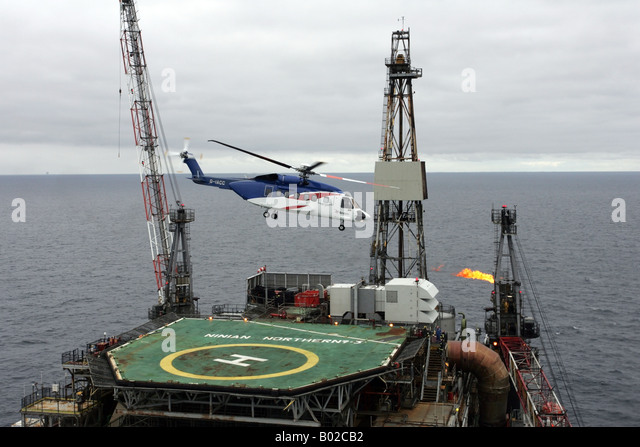 North Sea Rig Helicopter Stock Photos Amp North Sea Rig Helicopter Stock Im