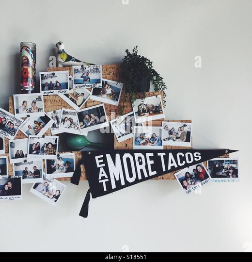 Eat More Tacos - Stock Image