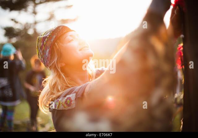 Festival, Rhodope mountains, Polkovnik Serafimovo, Bulgaria - Stock-Bilder