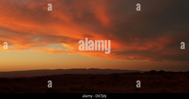 Gobi desert - Stock Image