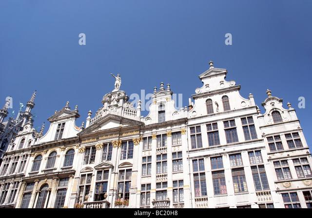 Brussels,Belgium,Traditional Architecture - Stock-Bilder
