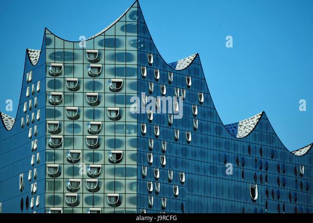 Elbphilharmonie, Hamburg, Deutschland - Stock-Bilder