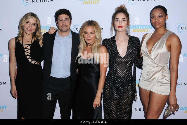 Hollywood, CA, USA. 25th July, 2016. 25 July 2016 - Hollywood, California. Jenny Mollen, Jason Briggs, Ashley Tisdale, - Stock Image