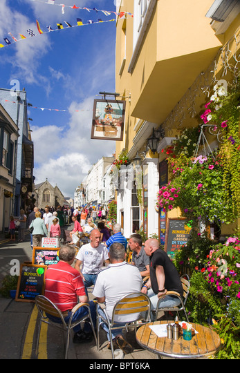 Tenby stock photos tenby stock images alamy for Terrace 6 pub indore